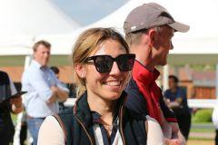 Katharina Irmer bei Goresbridge Breeze Up Sale 2021. ©Tattersalls offiziell