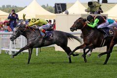 Defoe bleibt auch in den Hardwicke Stakes auf der Siegerstraße. www.galoppfoto.de - Sandra Scherning