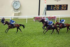 Ribchester entscheidet die Jersey Stakes souverän für sich. www.galoppfoto.de - Frank Sorge