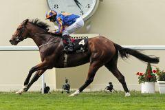 Gleneagles gewinnt die St James's Palace Stakes. www.galoppfoto.de - Frank Sorge
