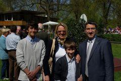 Familie Rolf Harzheim vom Gestüt Bona am 18.04.2010 in Köln. www.Dequia.de