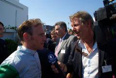 Andrasch Starke im TV-Interview mit Sven Kaulbars vom NDR. www.dequia.de