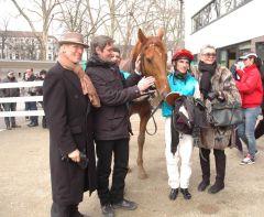 Siegr Andreas mit Dr. Paul, Markus Klug, Andrasch Starke. Foto Gabriele Suhr