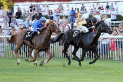 Artistica gewinnt in Hoppegarten ihr drittes Black Type-Rennen. www.galoppfoto.de - Sabine Brose