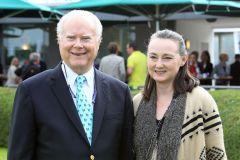 Barry und Kathleen Irwin, die neuen Besitzer von Arles. www.galoppfoto.de