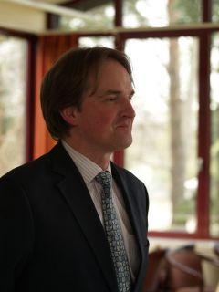 Benedikt Faßbender, Präsident des Kölner Rennvereins. Foto Silvia Göldner