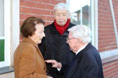 Experten in Dresden unter sich: Margarethe Jentzsch, Egon Würgau und Hein Bollow. www.galoppfoto.de