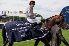 Ein großer Tag für Cristian Demuro. www.galoppfoto.de - Sandra Scherning