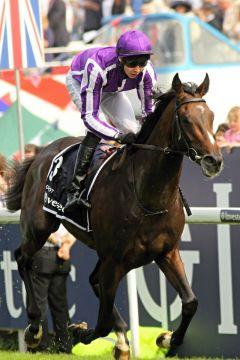 Camelot mit Joseph O'Brien sind die überlegenen Sieger im Investec Derby 2009. www.galoppfoto.de - Petr Guth
