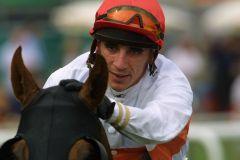Jean-Pierre Carvalho im Rennsattel. www.galoppfoto.de Frank Sorge