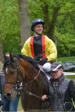 Happy winner: Glad Rock und Miguel Lopez. Foto: Ursula Stüwe-Schmitz
