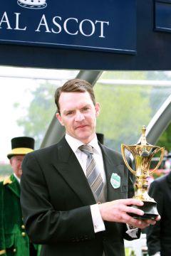 Der irische Erfolgstrainer Aidan O'Brien. www.galoppfoto.de
