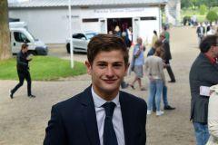 Zu Gast beim Düsseldorfer Renntag am 10.09.2017: Lukas Delozier - ein neues Gesicht in deutschen Jockeystuben. Foto: Luka Neckov
