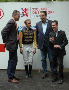 Andrasch Starke, Gregor Baum, Paul Harley. Foto Gabriele Suhr