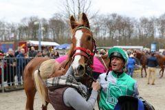 Dynamic Lips nach ihrem Sieg, Krefeld 20.3.1016 (Foto: Dr. Jens Fuchs)
