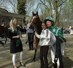 Sieger Emerald Star mit Daniele Porcu. Foto Gabriele Suhr
