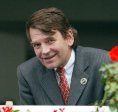 Eugen-Andreaas Wahler, Präsident des Hamburger Renn-Clubs. www.galoppfoto.de