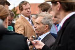 Kein Kontakt mit den französischen Medien, aber mit der britischen Presse spricht er: Andre Fabre. www.galoppfoto.de - JJ Clark