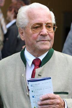 Fritz Drechsler im Portrait - Rennbahn Baden-Baden 2010. www.galoppfoto.de - Frank Sorge