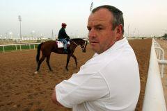 Globalplayer Mike de Kock in Dubai. www.galoppfoto.de