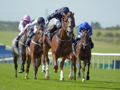 Alice Springs holt sich die Falmouth Stakes. Foto: offiziell
