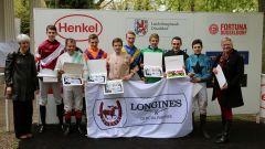 Siegerehrung im Fegentri-Rennen (Foto: Dr. Jems Fuchs)