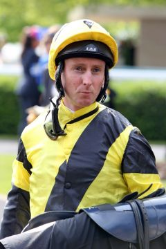 Jockey Martin Dwyer 2012 in Ascot. www.galoppfoto.de - Frank Sorge