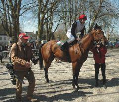 Sieger Kitco mit Adrie de Vries. Foto Gabriele Suhr