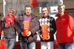 siegerehrung mit Jenny Vietz, Guido Schmitt und Jockey Alex Pietsch. Foto Gabriele Suhr