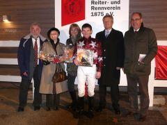 2011-11-27, Neuss, 8. R. - Preis der Sparkasse Neuss Traloppo Wettchance des Tages