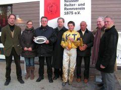 D. Delius, Mitglieder Stall KT, J. Bojko, U. Stoltefuß, R. Ording. Foto: Gabriele Suhr