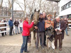Siger Magic Jack mit Marion Rotering, Kevin Braye, Stall Kurzer Kopf. Foto Gabriele Suhr