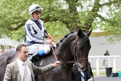 Maxios mit Stephane Pasquier in Royal Ascot. www.galoppfoto.de - Frank Sorge