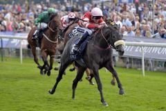 Ein Sieg für den Norden Englands: Mecca's Angel gewinnt die Nunthorpe Stakes. www.galoppfoto.de - Jim Clark
