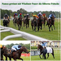 Namos gewinnt mit Wladimir Panov die Silberne Peitsche. www.galoppfoto.de - Sarah Bauer