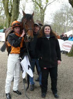 Sieger Keep Cool mit Filip Minarik und Anne-Christin Löwe (Foto Suhr)