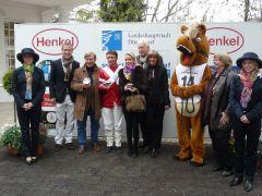 Siegerehrung mit Ertürk Kudu und Adrie de Vries (Foto Suhr)