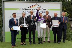 Siegerehrung im 54. Preis von Europa (Foto: Dr. Jens Fuchs)