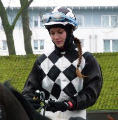 Nina Wagner am 29.01.2012 in Dortmund. Foto Karina Strübbe