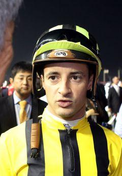 Christophe Lemaire 2014 in Meydan. www.galoppfoto.de - Frank Sorge