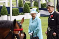 Queen Elizabeth II und Prinz Philip in Royal Ascot. www.galoppfoto.de