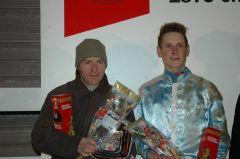 Siegerehrung mit Toni Potters und Martin Seidl (Foto: Suhr)