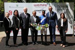 Der erste von drei Tagessiegen für Team Wöhler (Foto: Dr. Jens Fuchs)