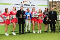 Siegerehrung im Sauren Dachfonds-Rennen (Foto: Dr. Jens Fuchs)