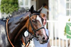 Sarina nach ihrem Hamburger Sieg am 04.07.2015. Foto: Dr. Jens Fuchs