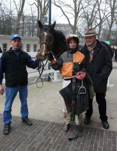 Do It Yourself mit Andrasch Starke und Trainer Andreas Löwe (Foto Suhr)