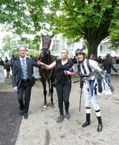 Sieger Remington mit Sascha Smrczek und Daniele Porcu (Foto: Gabriele Suhr)