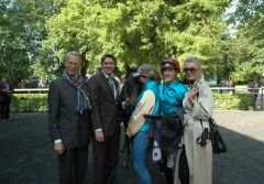 Wilson mit Dr. Paul, Markus Klug, Martin Seidl. Foto Gabriele Suhr
