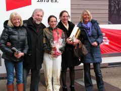 Eva-Maria Amdohr (Sekretariat), Dr. M. Hundertmark, Norman Richter, Marion Weber, Reinhard Ording (Vorstand). Foto: Gabriele Suhr