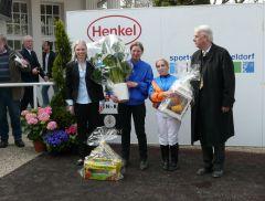 M. Renggli, Steffi Hofer, Vizepräsident A. Woeste (Foto: Gabriele Suhr)